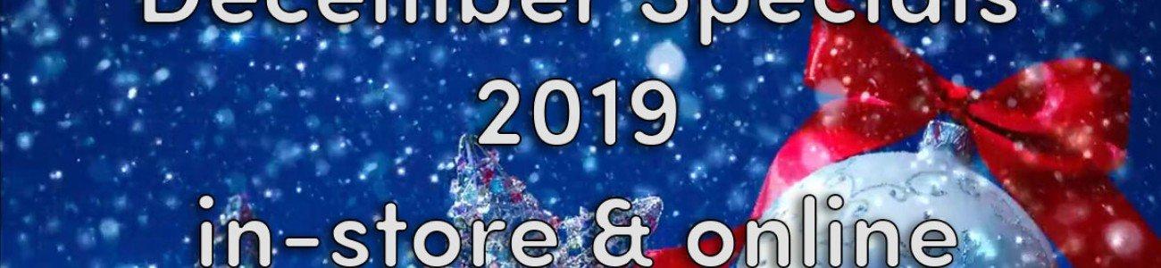 December 2019 Specials