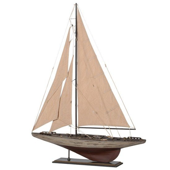 Old sailing yacht