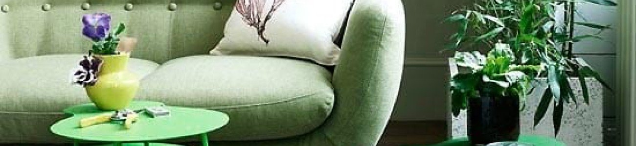 (Part II) Greens - The strongest decoration trends for this season