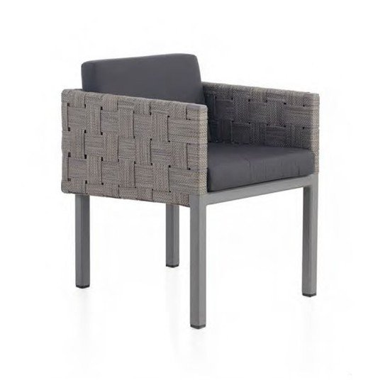 Cubic Armchair w/ Slim Cushion