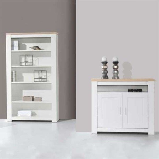 Florence Oak/White Hall Unit