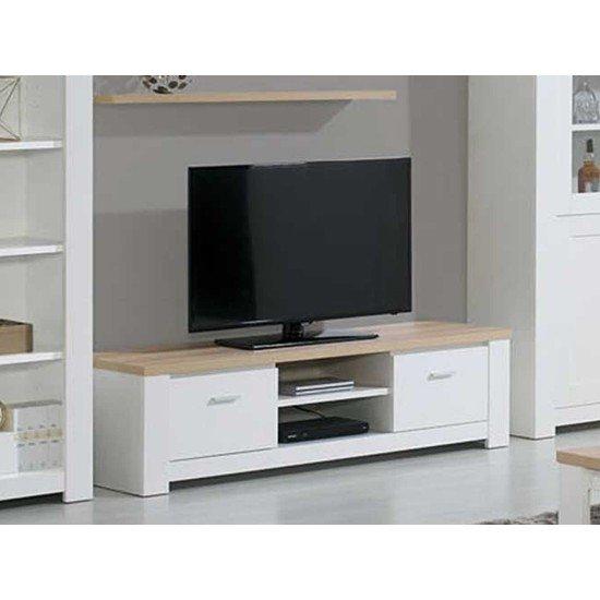 Florence Oak/White TV Unit