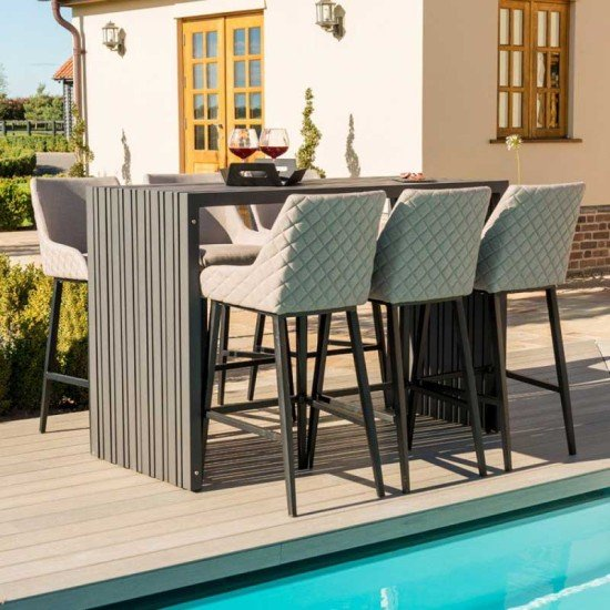 Regal 6 Seat Rectangular Bar Set