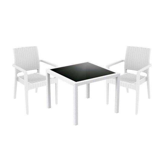 White Atlantic Dining Set