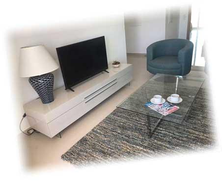 Ancora Apartments Living Room