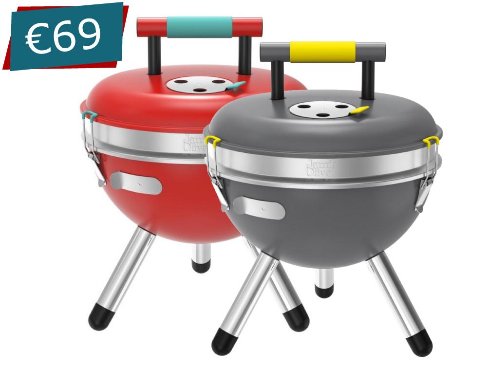 Jamie Oliver Park BBQ - Red / Grey