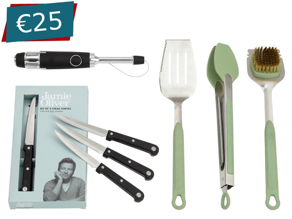 Jamie Oliver BBQ Set - Green