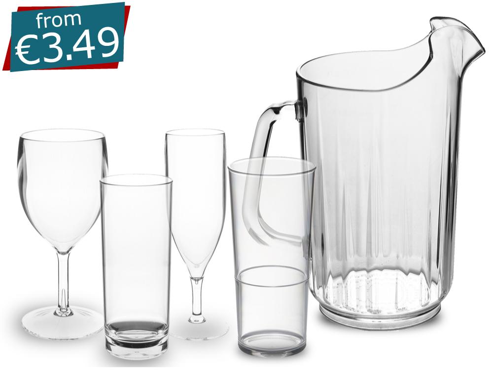 Roltex Unbreakable Glassware